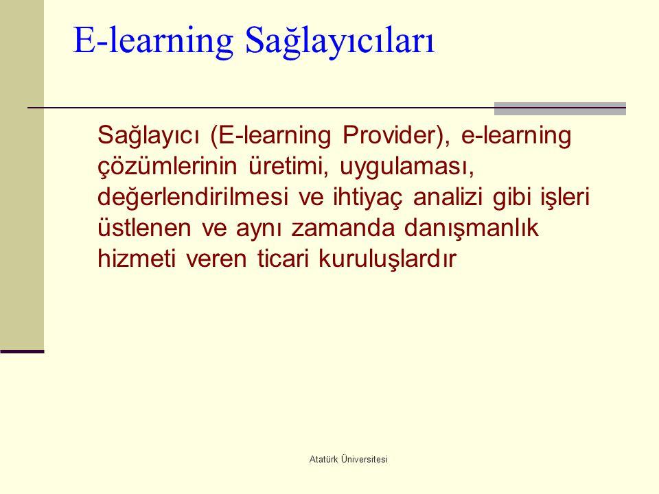E-learning Sağlayıcıları