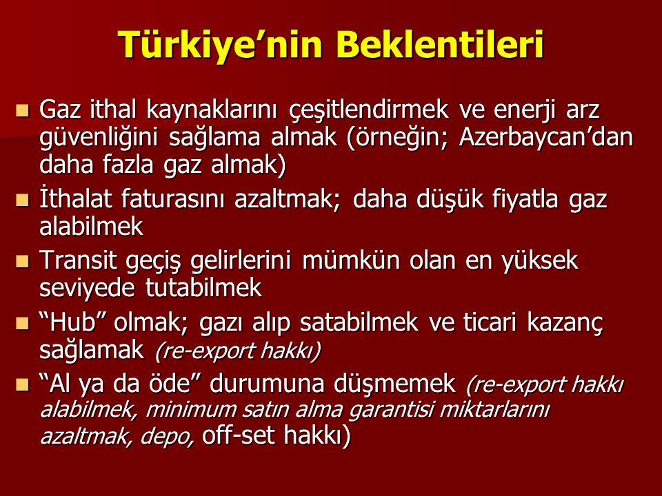 Türkiye'nin Beklentileri