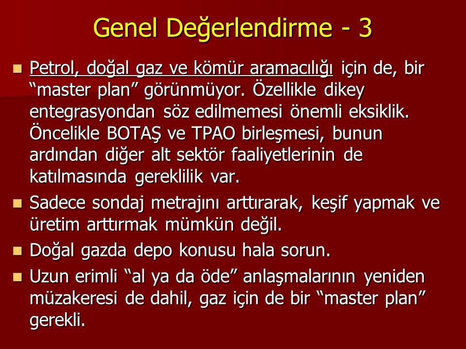 Genel Değerlendirme - 3