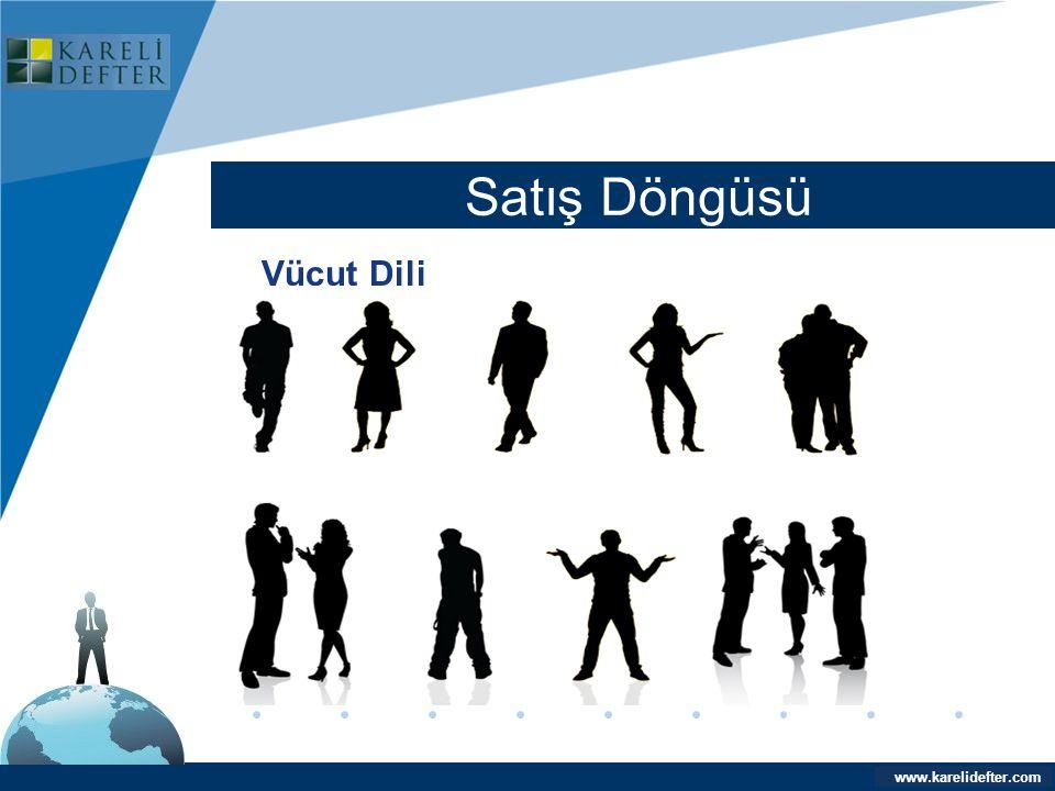 Company LOGO Satış Döngüsü Vücut Dili www.karelidefter.com