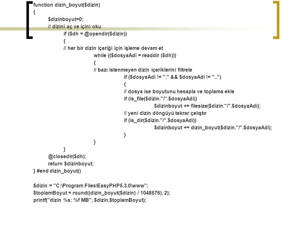 function dizin_boyut($dizin)