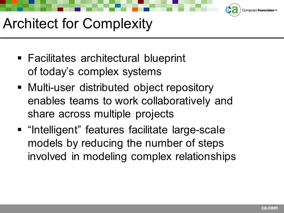 Architect for Complexity