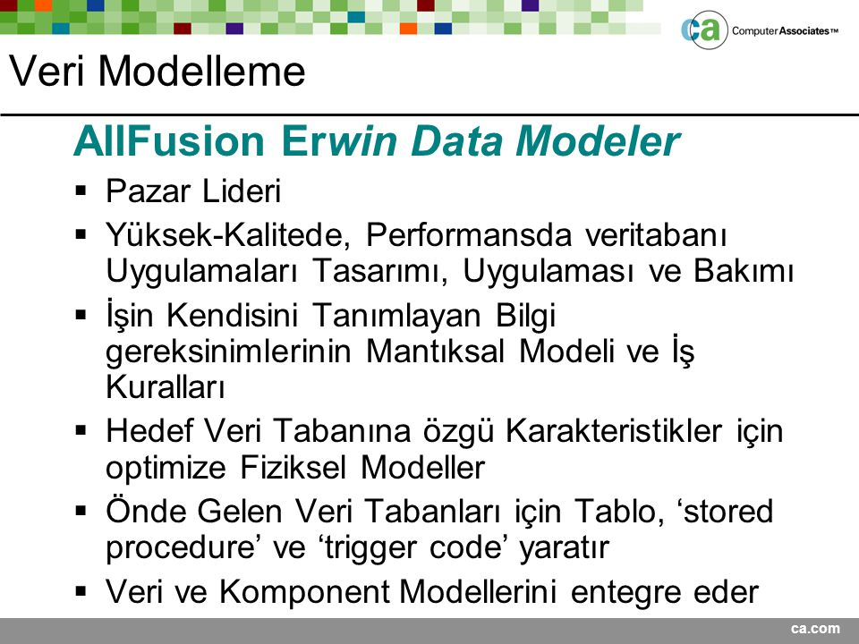 AllFusion Erwin Data Modeler