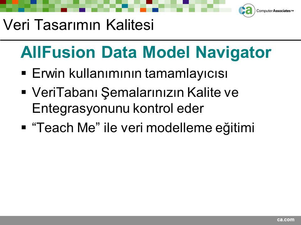 Veri Tasarımın Kalitesi