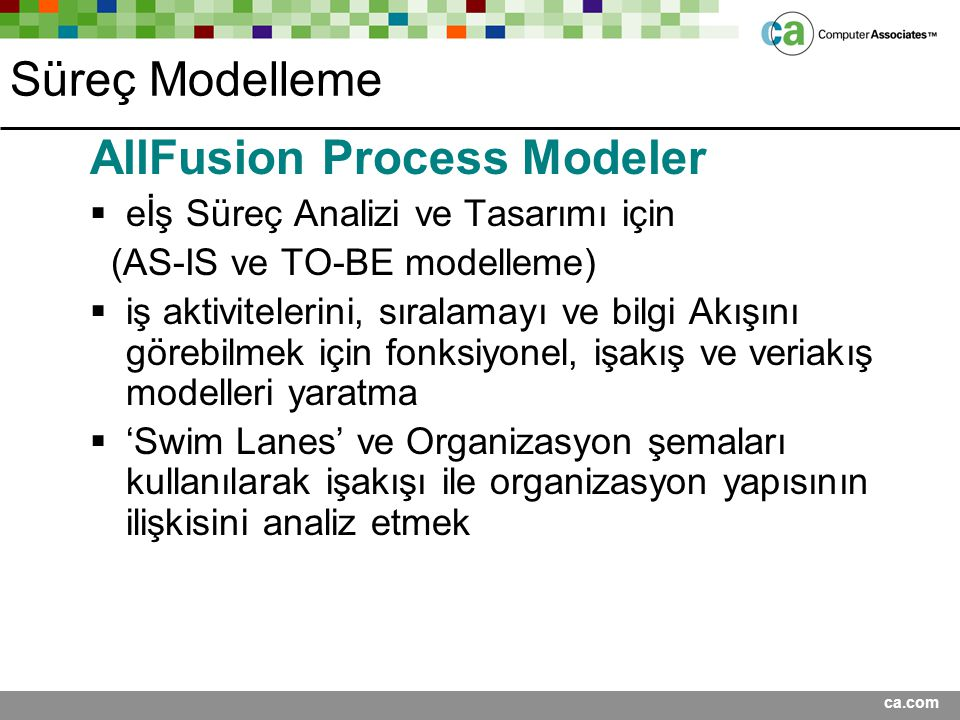 AllFusion Process Modeler