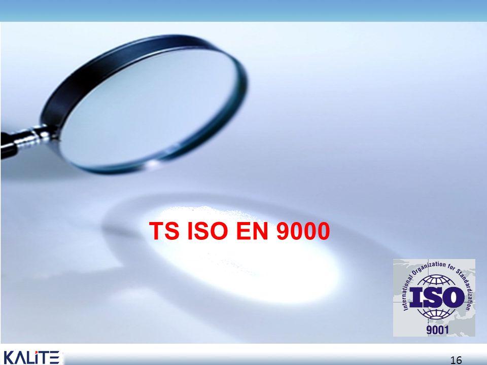 TS ISO EN 9000