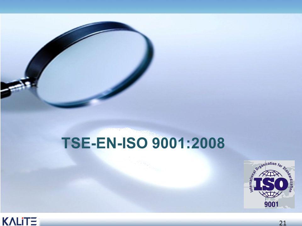 TSE-EN-ISO 9001:2008