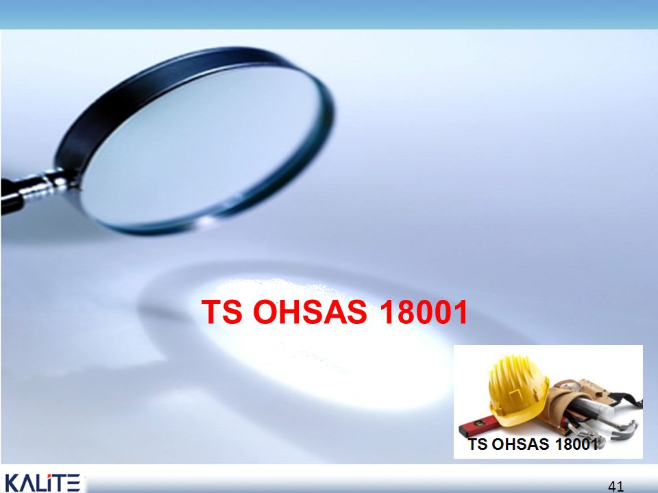 TS OHSAS 18001