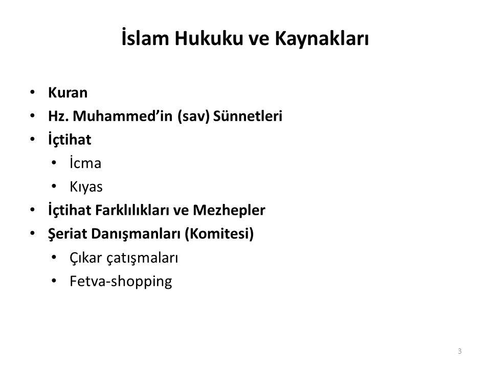 İslam Hukuku ve Kaynakları