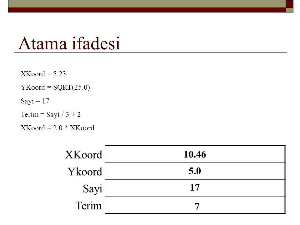 Atama ifadesi XKoord Ykoord Sayi Terim 10.46 5.23 5.0 17 7