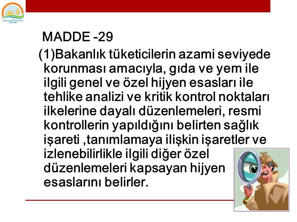 MADDE -29