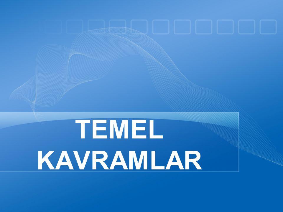 TEMEL KAVRAMLAR 4