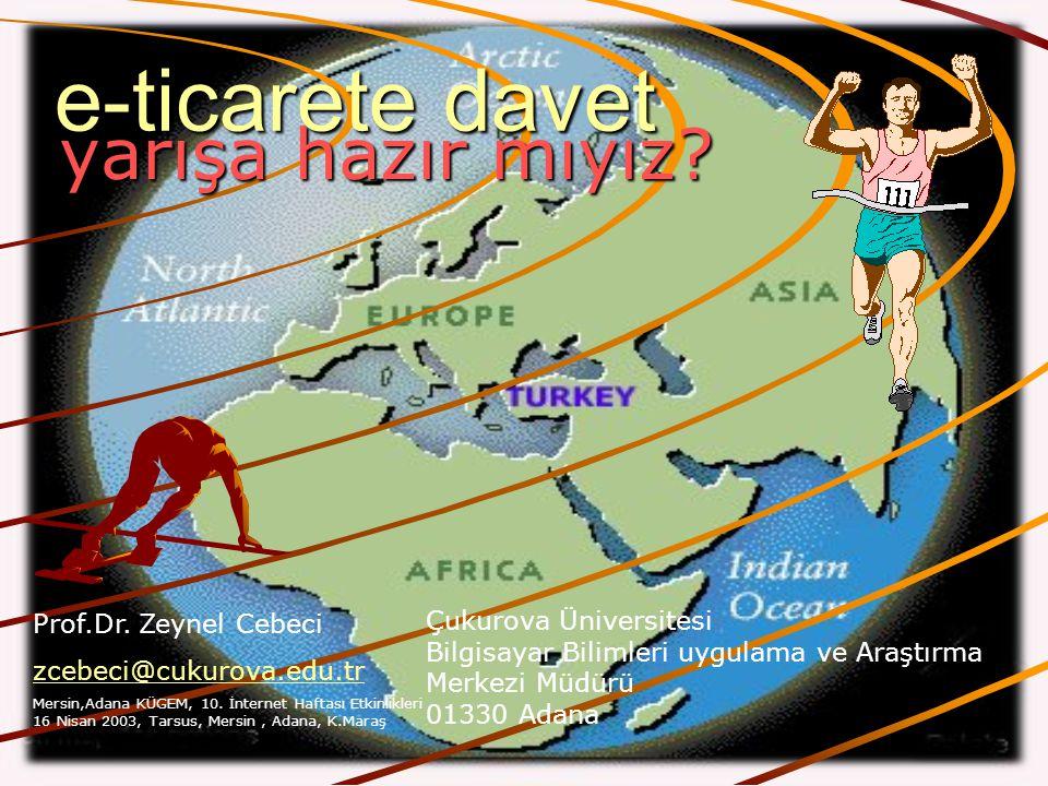 e-ticarete davet İNTERNET ve EĞİTİM İnternet Yaşamdır! Mustafa Akgül