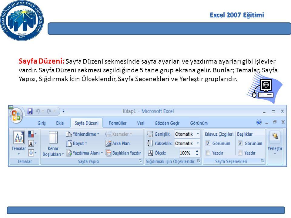 Excel 2007 Eğitimi