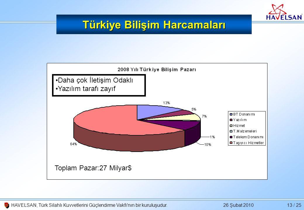 Türkiye Bilişim Harcamaları