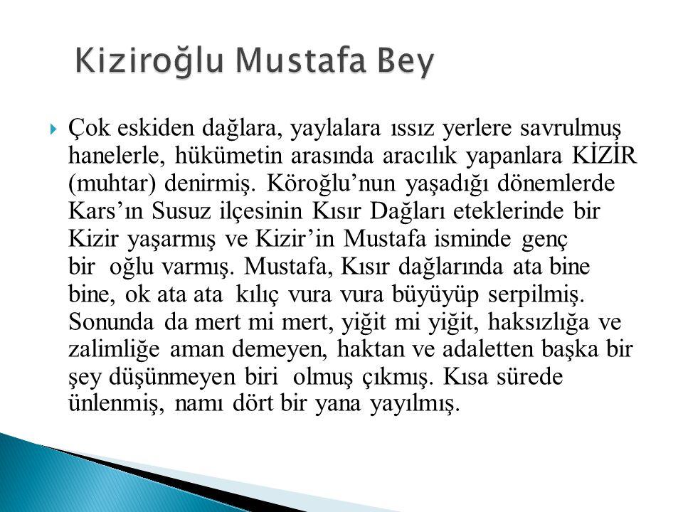Kiziroğlu Mustafa Bey