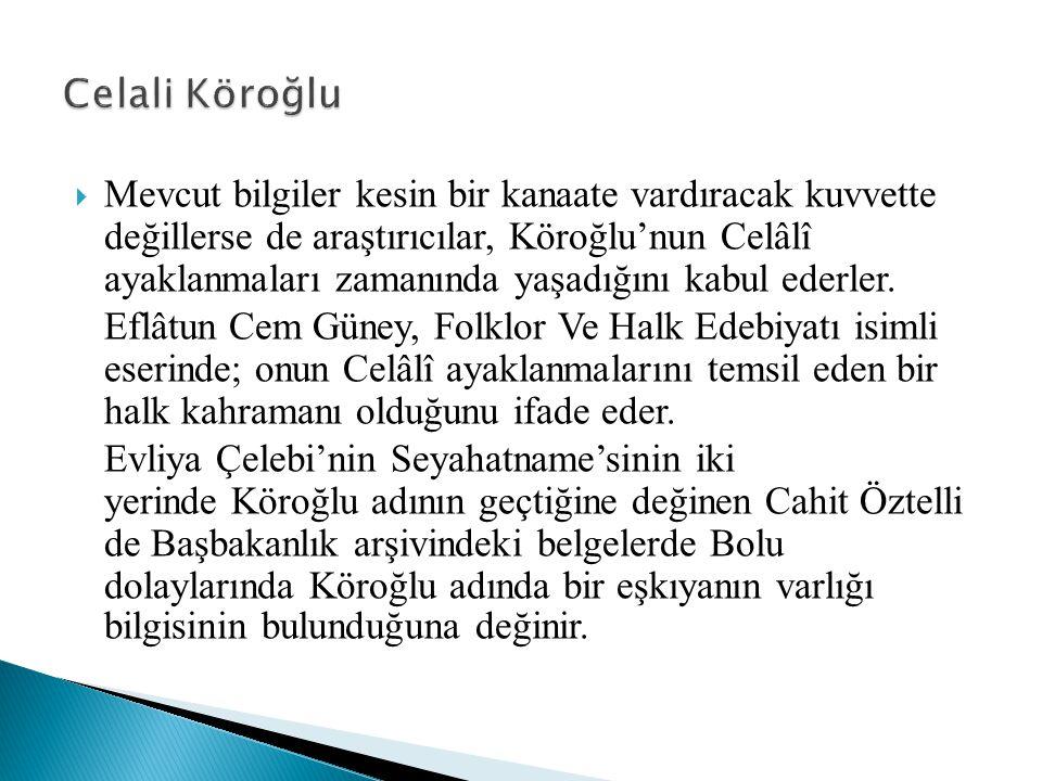 Celali Köroğlu
