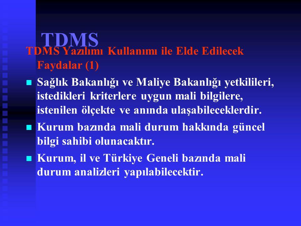 TDMS TDMS Yazılımı Kullanımı ile Elde Edilecek Faydalar (1)
