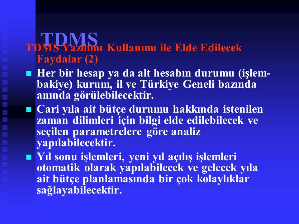TDMS TDMS Yazılımı Kullanımı ile Elde Edilecek Faydalar (2)