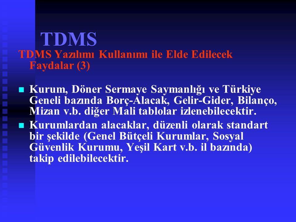 TDMS TDMS Yazılımı Kullanımı ile Elde Edilecek Faydalar (3)