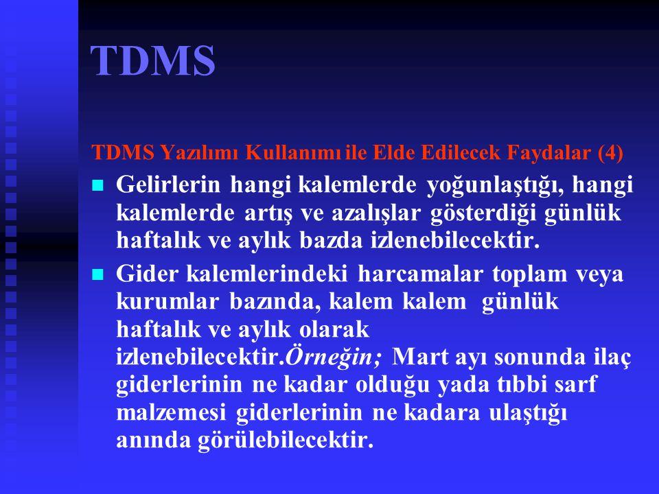 TDMS TDMS Yazılımı Kullanımı ile Elde Edilecek Faydalar (4)