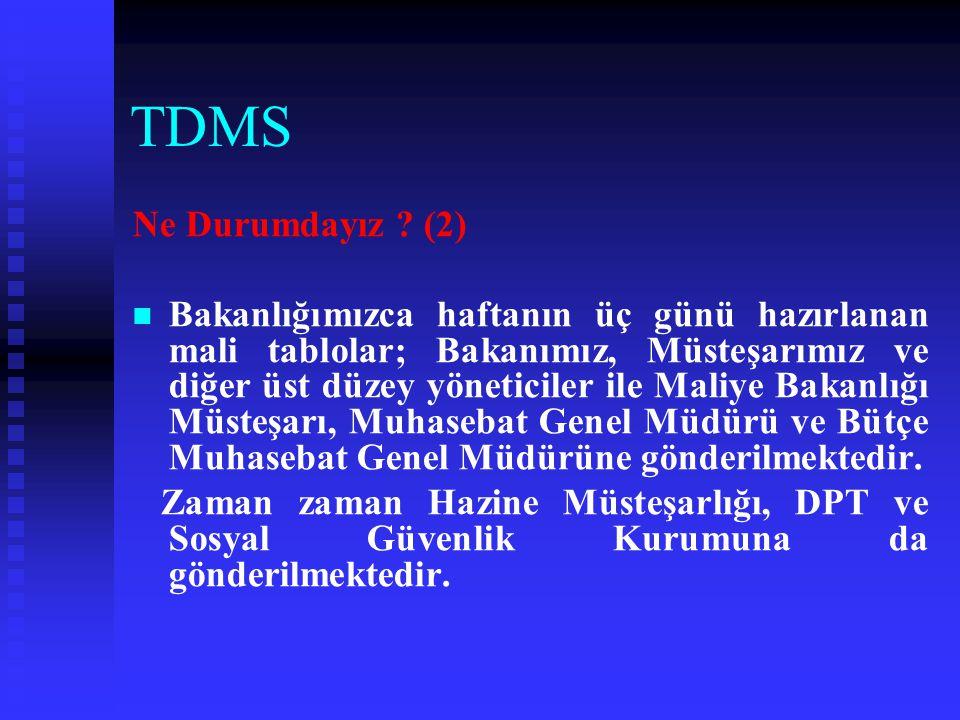 TDMS Ne Durumdayız (2)