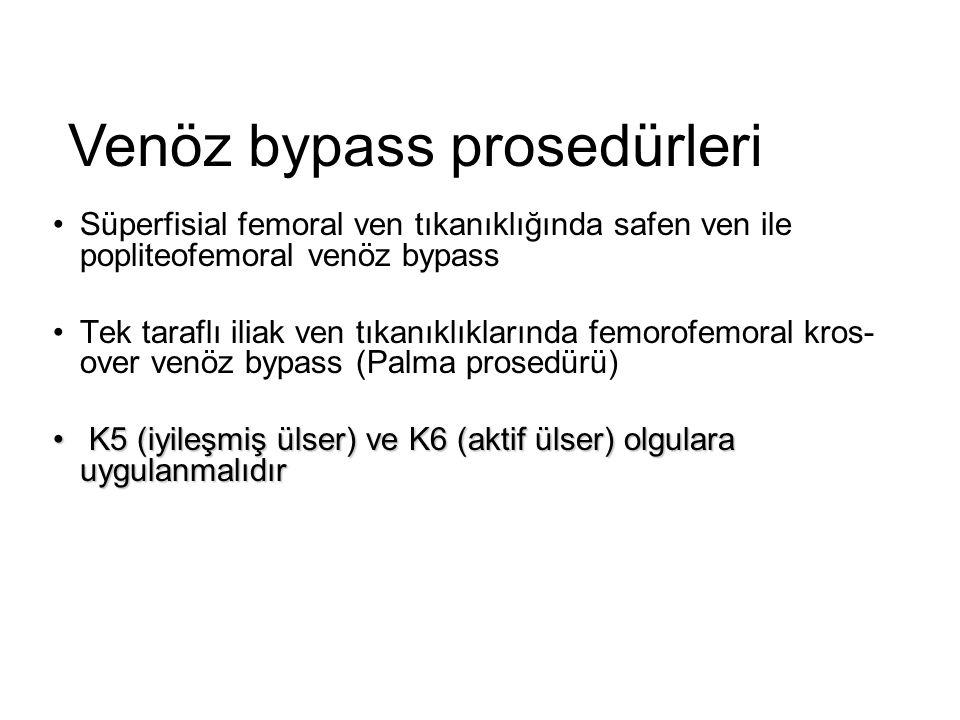 Venöz bypass prosedürleri