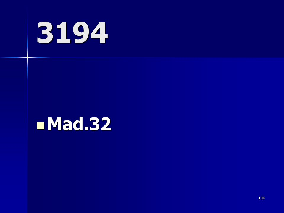 3194 Mad.32