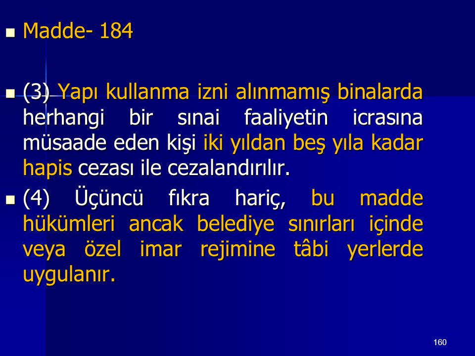 Madde- 184