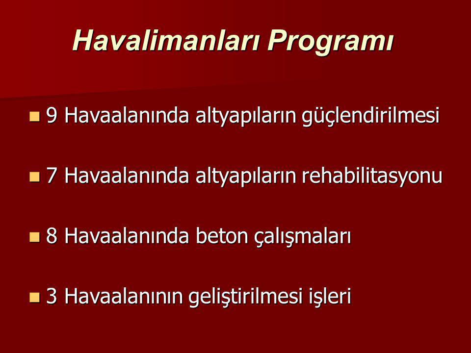 Havalimanları Programı