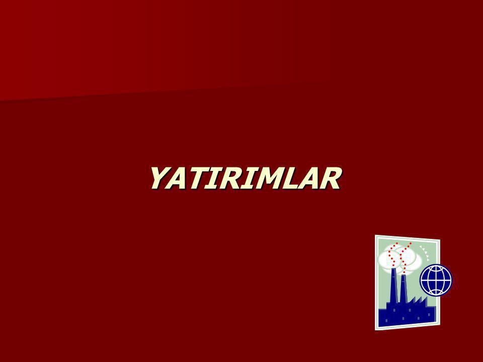 YATIRIMLAR
