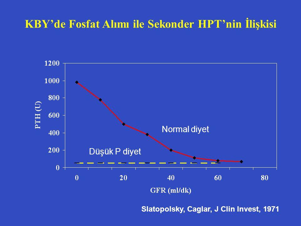 KBY'de Fosfat Alımı ile Sekonder HPT'nin İlişkisi