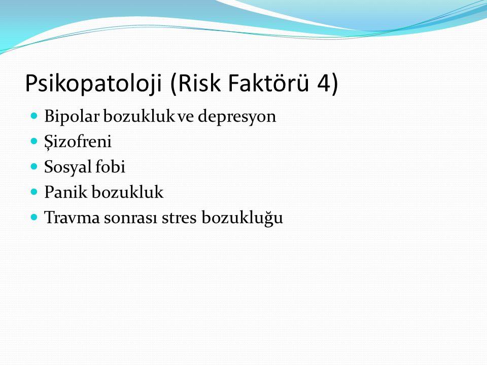 Psikopatoloji (Risk Faktörü 4)
