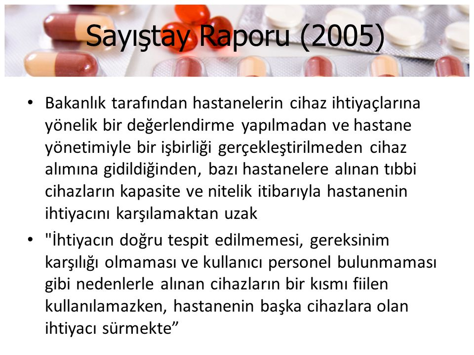 Sayıştay Raporu (2005)
