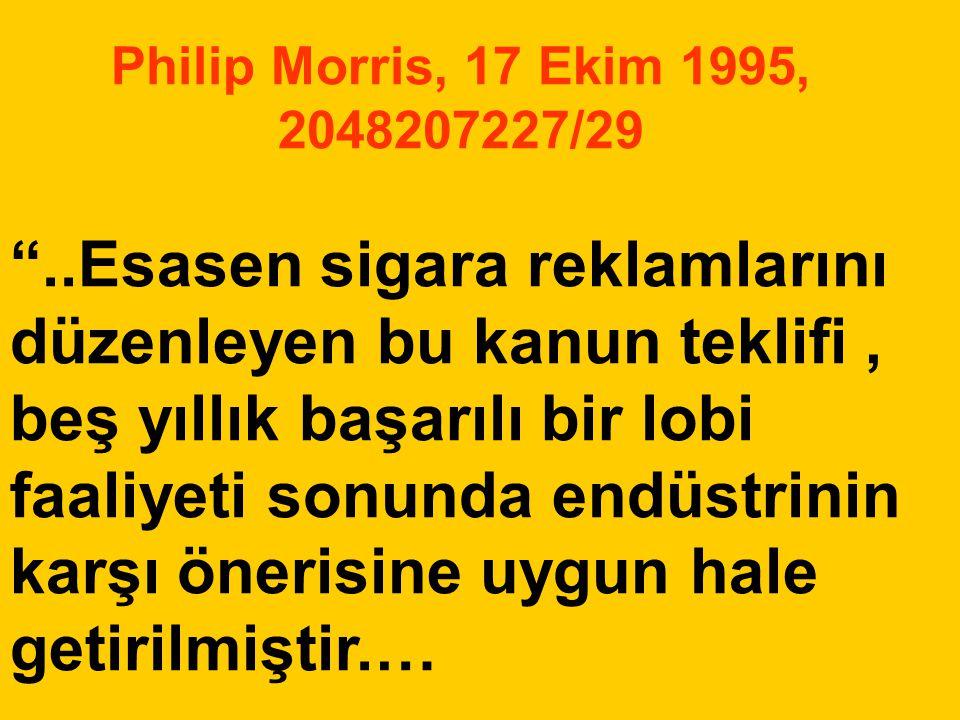 Philip Morris, 17 Ekim 1995, 2048207227/29
