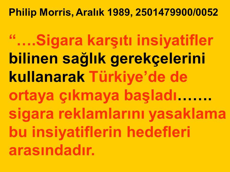 Philip Morris, Aralık 1989, 2501479900/0052