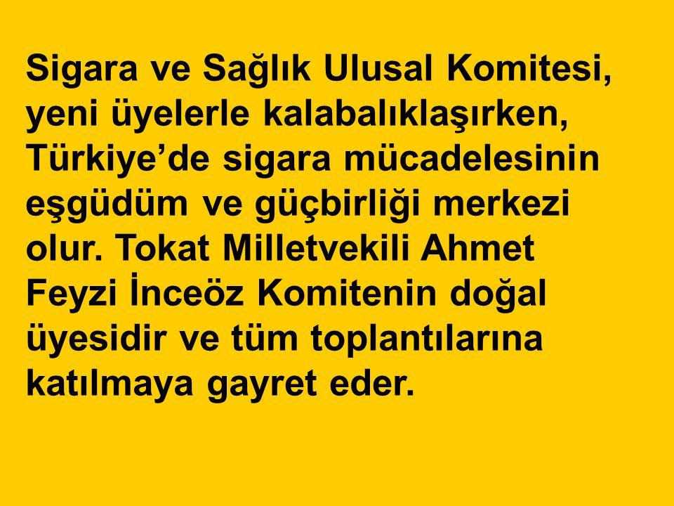 Sigara ve Sağlık Ulusal Komitesi, yeni üyelerle kalabalıklaşırken, Türkiye'de sigara mücadelesinin eşgüdüm ve güçbirliği merkezi olur.