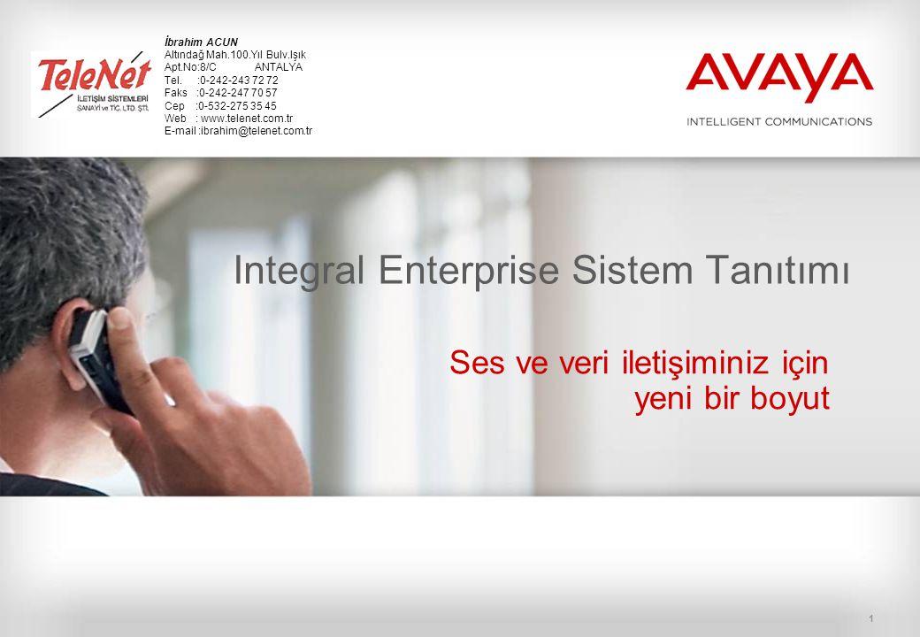 Integral Enterprise Sistem Tanıtımı