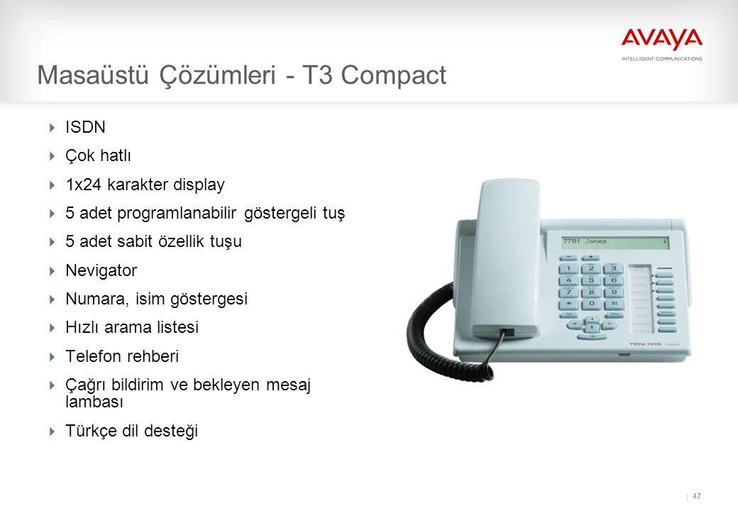 Masaüstü Çözümleri - T3 Compact