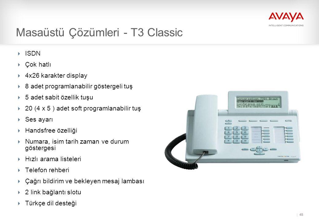 Masaüstü Çözümleri - T3 Classic