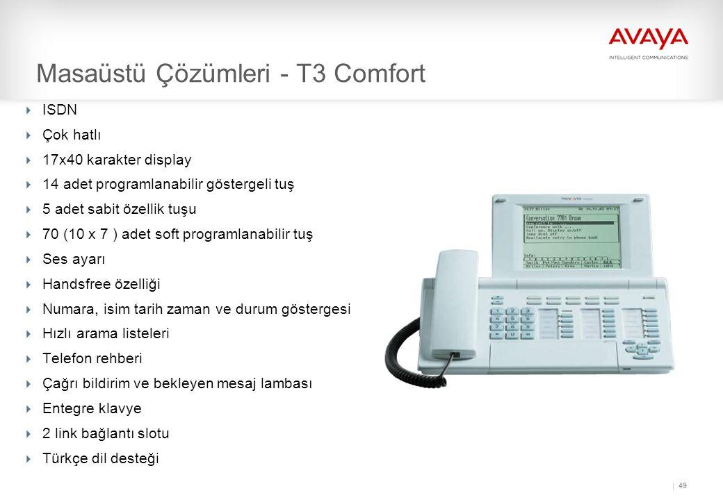 Masaüstü Çözümleri - T3 Comfort