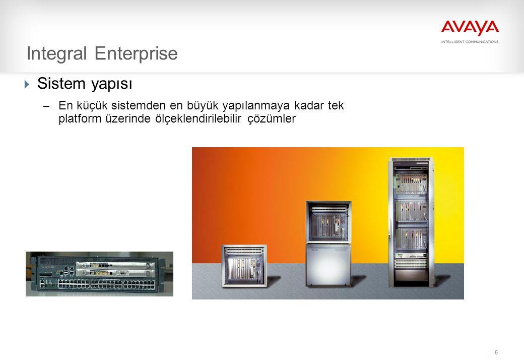 Integral Enterprise Sistem yapısı