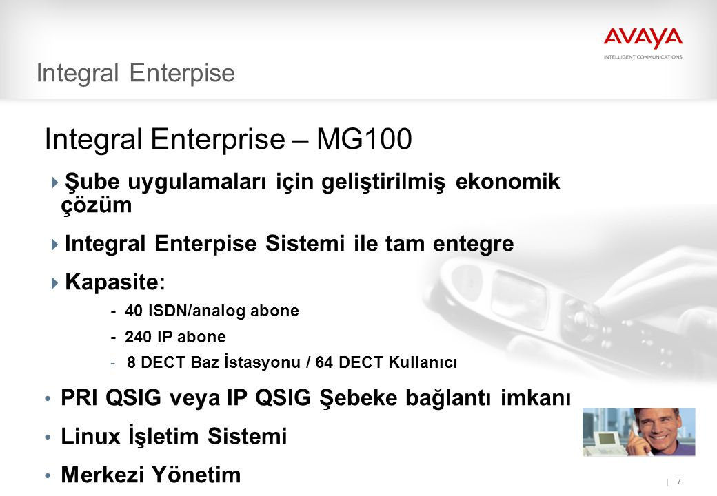 Integral Enterprise – MG100