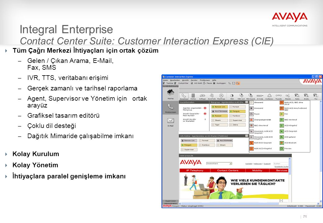 Integral Enterprise Contact Center Suite: Customer Interaction Express (CIE)