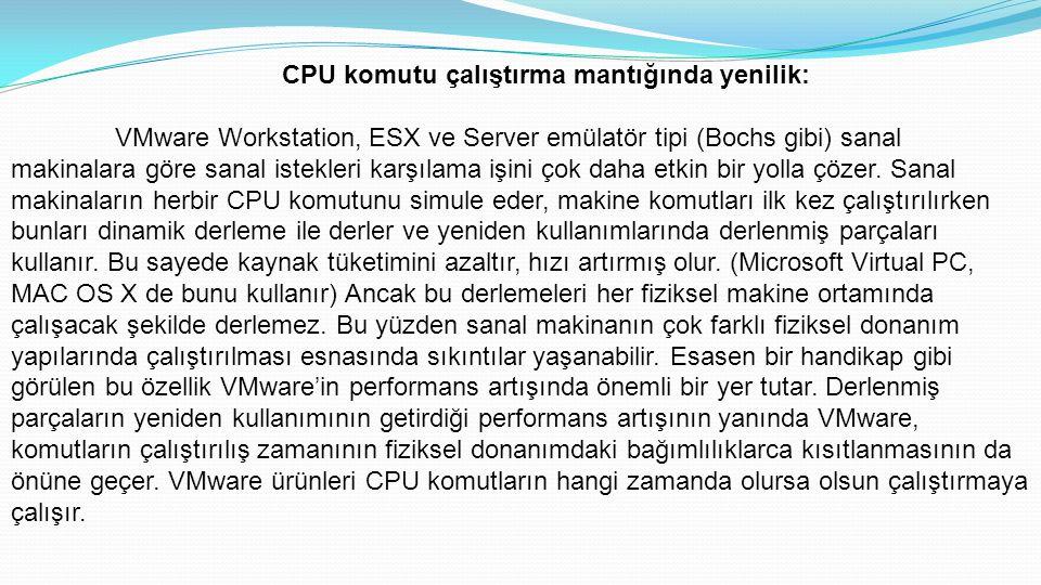 CPU komutu çalıştırma mantığında yenilik: