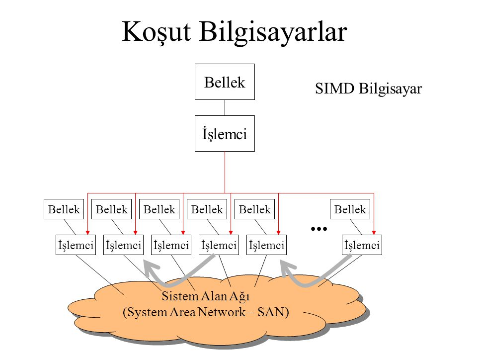 (System Area Network – SAN)