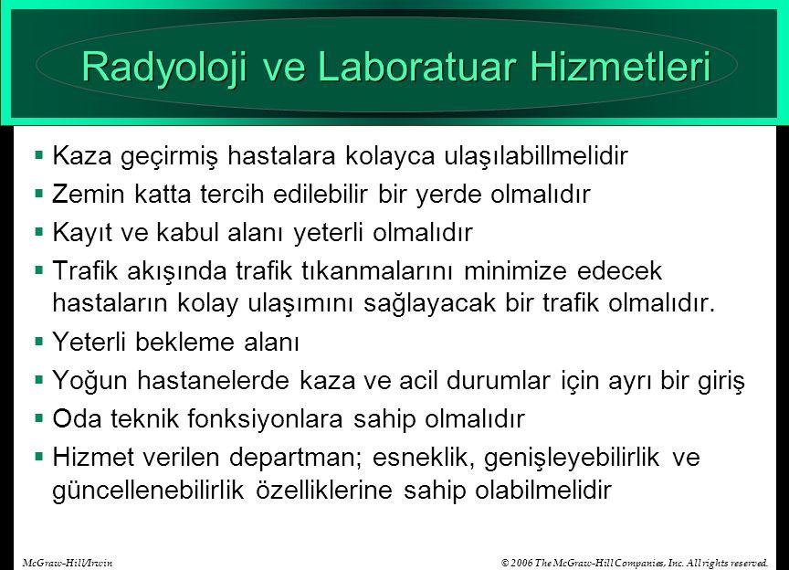 Radyoloji ve Laboratuar Hizmetleri