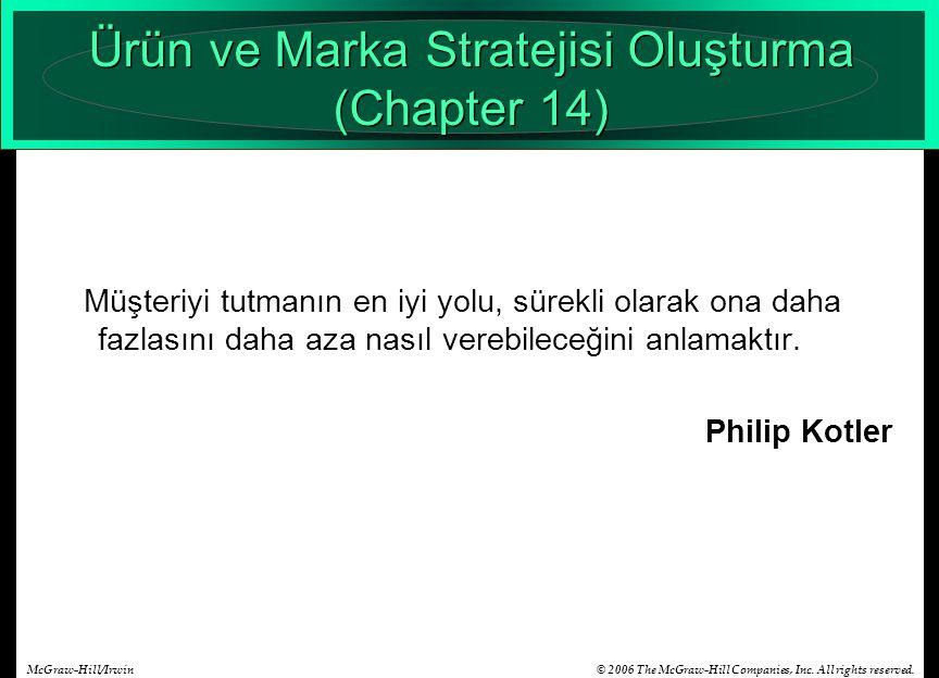 Ürün ve Marka Stratejisi Oluşturma (Chapter 14)