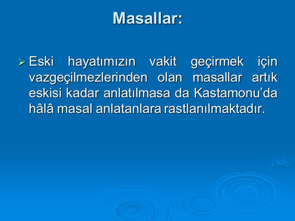 Masallar: