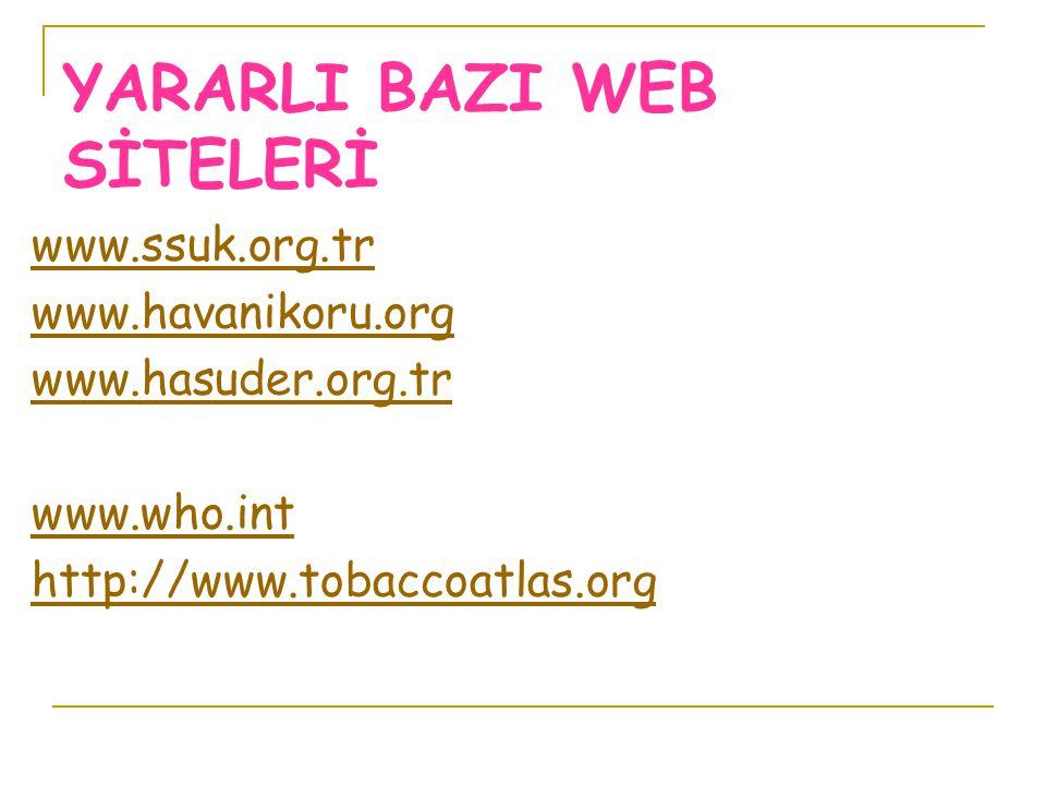 YARARLI BAZI WEB SİTELERİ